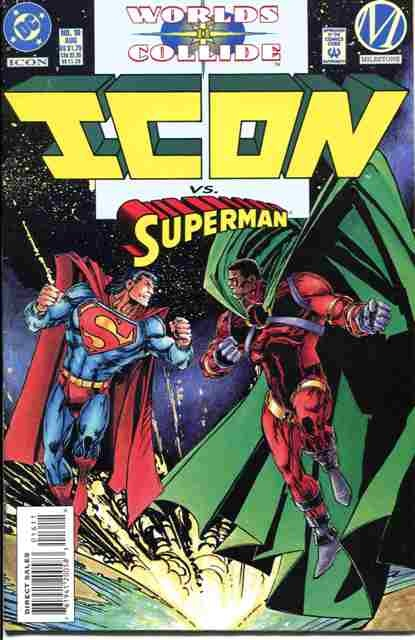 Icon vs Superman [McDuffie Tribute]   Blerds The Word ...