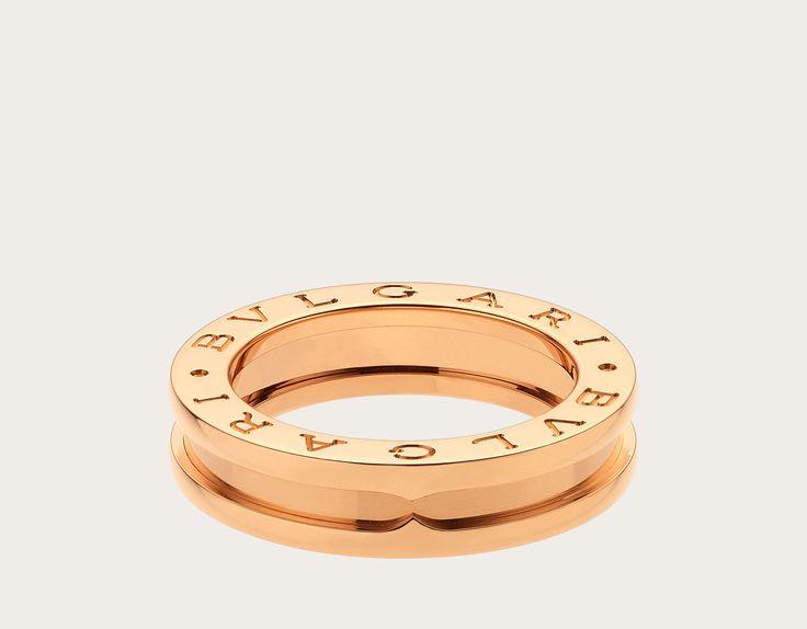 B.zero1 Anillos Oro Rosa AN852422 - Descubra las colecciones de Bulgari y lea más acerca de la magnífica firma de joyería italiana en el sitio web oficial.