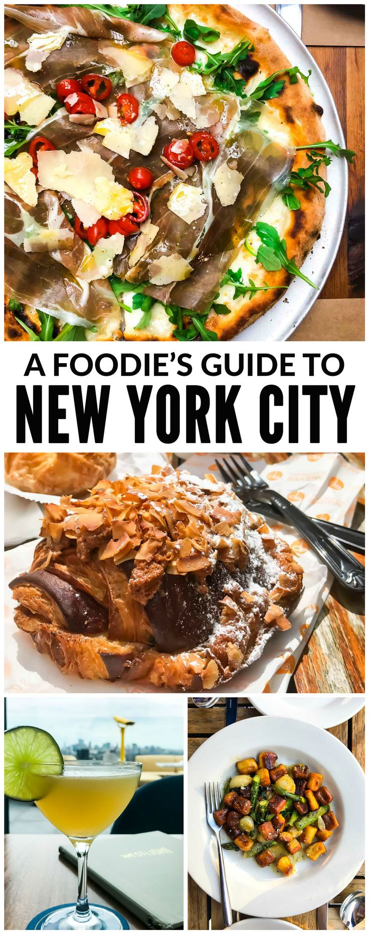 The ULTIMATE New York Guide for foodies! Top restaurants, bakeries, brunch spots, rooftop bars, and more. Something for every taste and budget! Read the post at wellplated.com | @wellplated