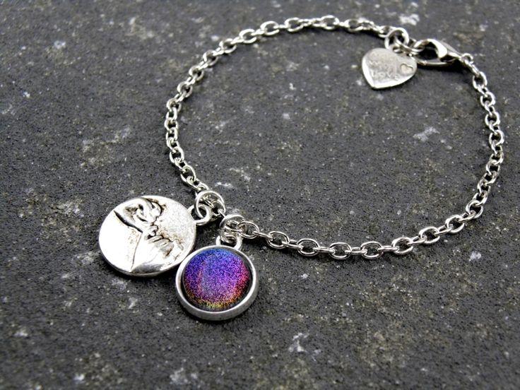 2 Pinky Promise Bracelets, Aurora Borealis Bracelet by AChicFairytale on Etsy