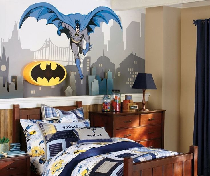 Superhero Bedroom Wallpaper Bedroom Accessories Bedroom Ideas Young Couple Bedroom Furniture Floor Plan: 20 Best 20 Superhero Bedroom Theme Ideas For Boys And