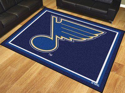 NHL - St. Louis Blues 8'x10' Rug