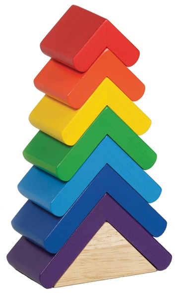 Stacking Tower cause colour the world - 8 piece