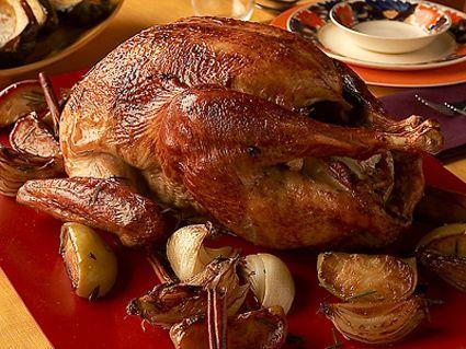 Alton Brown Good Eats Brined & Roasted Turkey