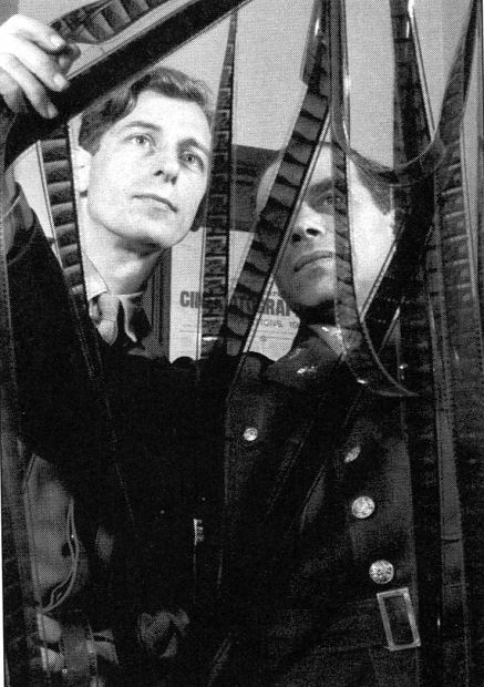 John Boulting and Frank Capra, collaborators on the war documentary Tunisian Victory