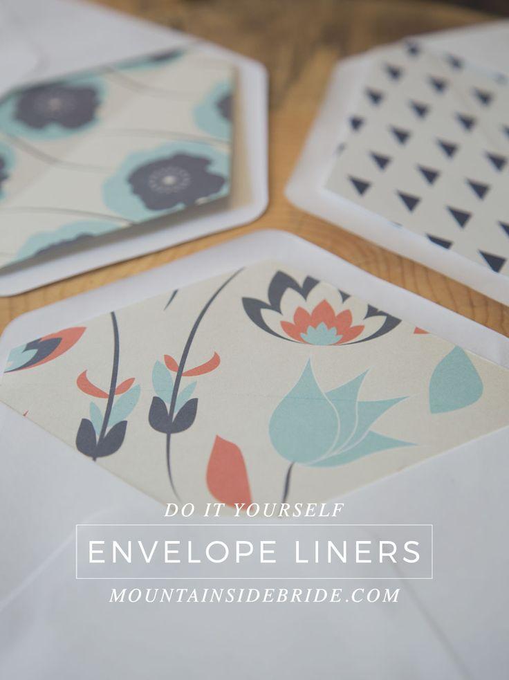 63 best envelope liner images on Pinterest Envelopes, Decoration - sample envelope liner template