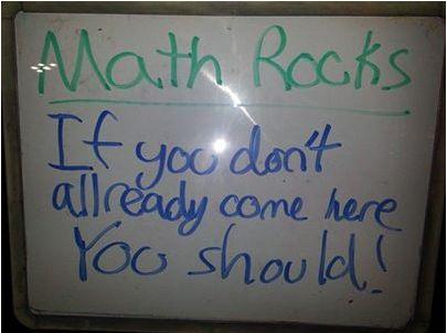 Wonderful words from a #Mathnasium fifth grader! Thank you! #mathrocks