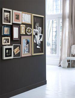 #DIY memories #moodboard #collage #frames - zelfmaakidee: #herinneringen #lijsten #foto's - kijk op: www.101woonideeen.nl