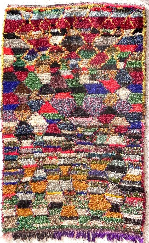 boucherouite: Natural Imperfect, Rag Rugs, Vintage Rugs, Moroccan Rugs, Middle Atlas, Unique Vintage, Berber Rugs, Reclaimed Cotton, Rugs Inspiration