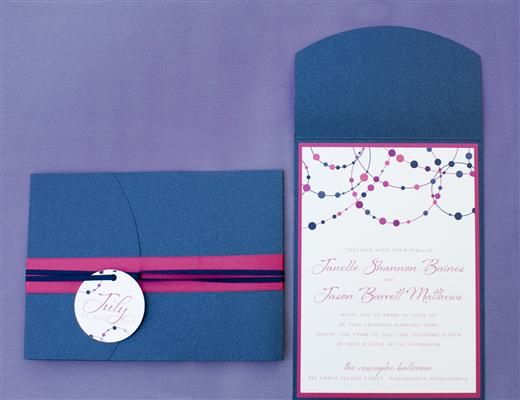 Purple And Blue Wedding Invitations: 17 Best Images About Purple, Pink, Blue Wedding On
