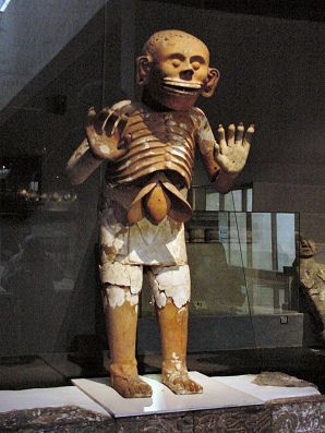 Mictlantecutli - God of death - Templo Mayor (Tenochtitlán) Mexico City D.F. Mexico Travel & Tour Pictures, Photos, Information, Images, & Reviews.