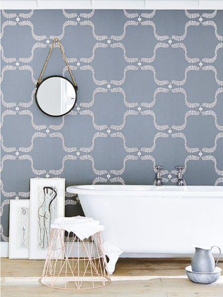 51 besten tapeten wandfarben bilder auf pinterest wandfarben tapeten und badezimmer blau. Black Bedroom Furniture Sets. Home Design Ideas