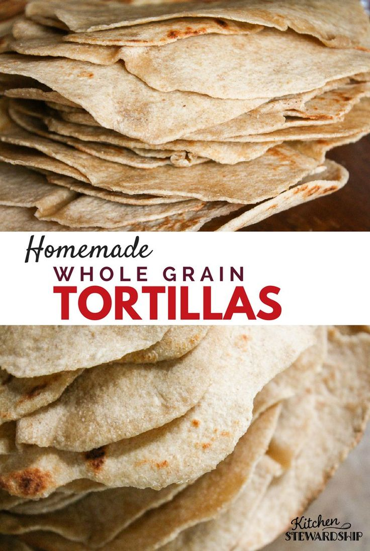 Soft and delicious, these homemade tortillas will convert you to whole wheat in an instant, and they are easy to make without special equipment.