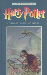 The second Harry Potter-book in Danish.