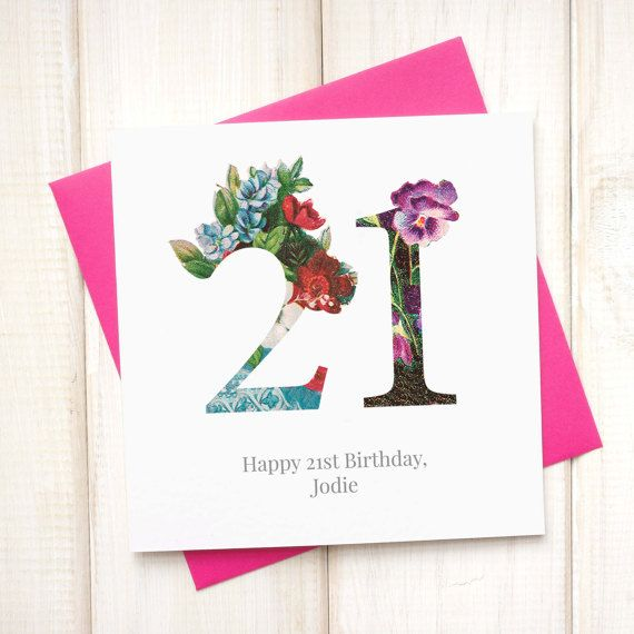 1000+ Ideas About 21st Birthday Cards On Pinterest