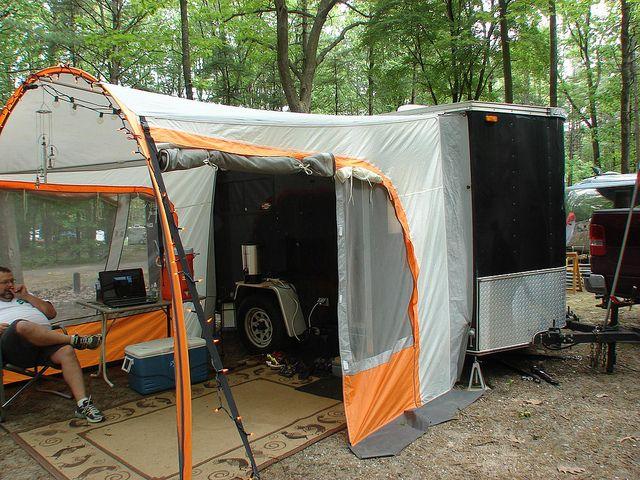 Popular  Camper Trailers Utility Trailer Camper Cargo Trailer Conversion Cargo