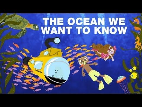"A great video for the kids, using Gotye's song ""Somebody that I used to know"" but changing it to ""The Oceans we want to know"" - Cute!"