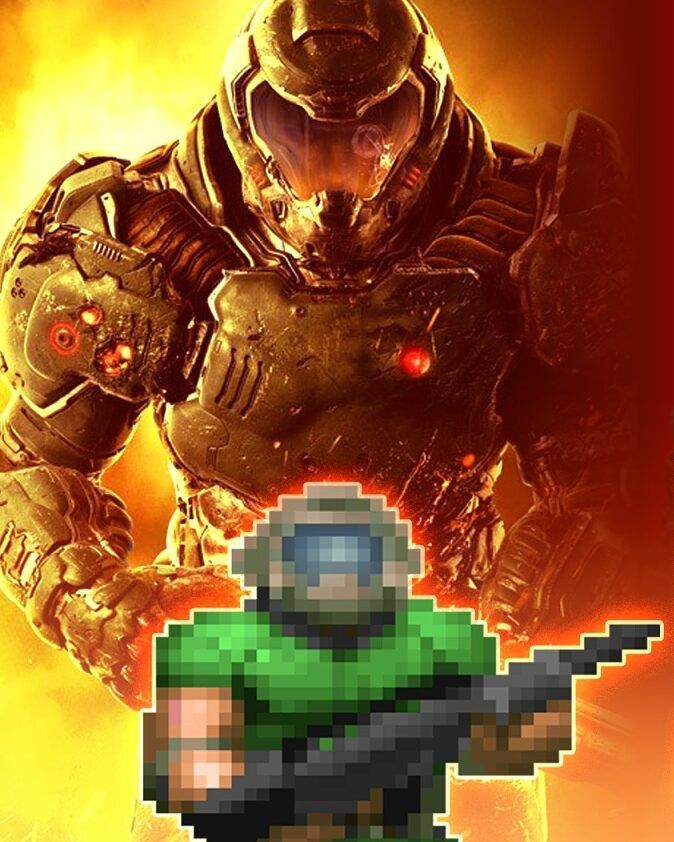 Flynn Taggart Aka (Doomguy) from Doom (I never play doom games but this guy who fearless like boss)