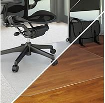 """Deflecto 36""""x48"""" ALL SURFACE Rectangle Chairmat for Low Pile Carpet or Hard Floors"""