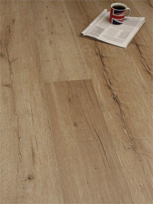 12mm Natural Rip Oak Floor