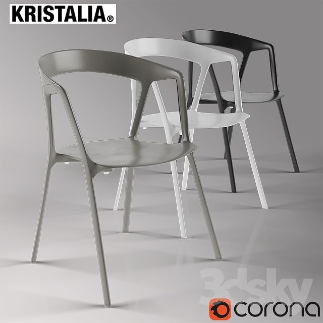 Chair Kristalia Compas