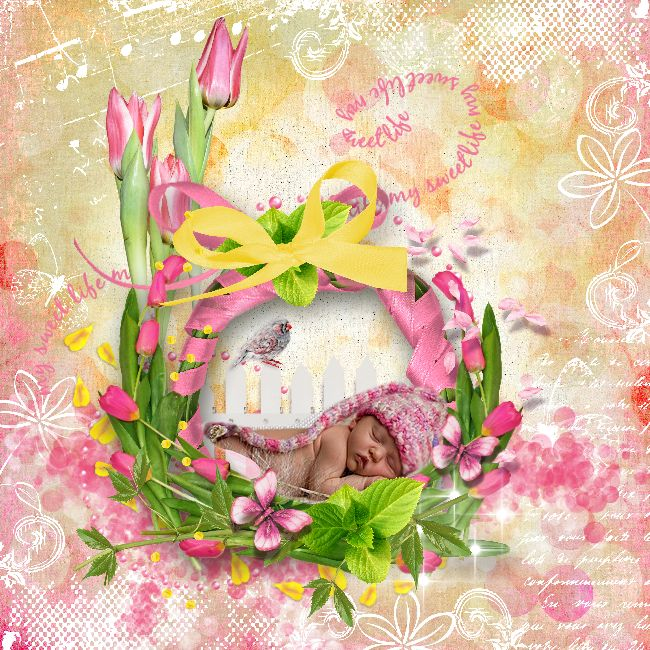 New in store , Tulips by Bee Creation  available at  https://www.e-scapeandscrap.net/boutique/index.php…  http://scrapfromfrance.fr/shop/index.php…  Tube from the club, ©InadigitalArt2016