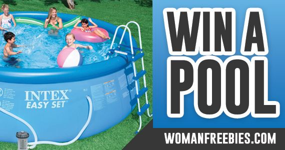 Win An Outdoor Pool From WomanFreebies