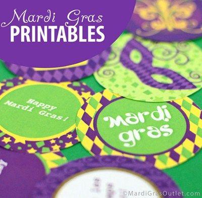 Mardi Gras Free Printables                                                                                                                                                     More