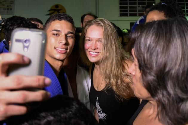 Forget Ronda Rousey: Tate, Holm and 'Cyborg' Come Together to Make Movie