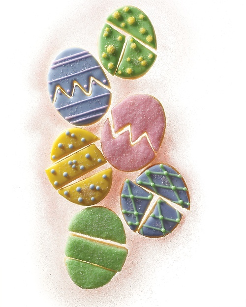 Easter Egg Puzzle Cookies - Martha Stewart Recipes