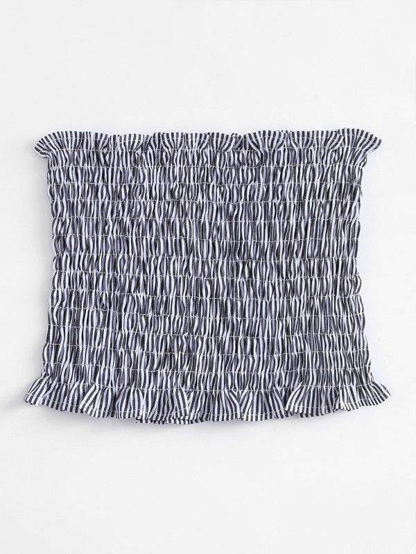 Shop Elastic Shirred Bandeau Bra online. SheIn offers Elastic Shirred Bandeau Bra & more to fit your fashionable needs.