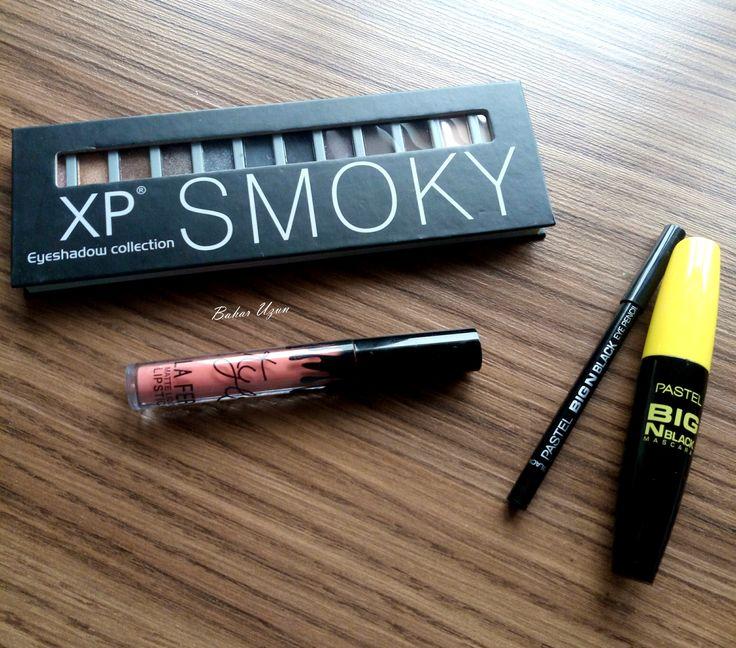 XP Smoky Far Paleti, Pastel Big N Black Maskara