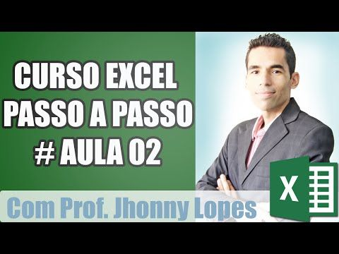 Curso Excel basico aula 2 - YouTube