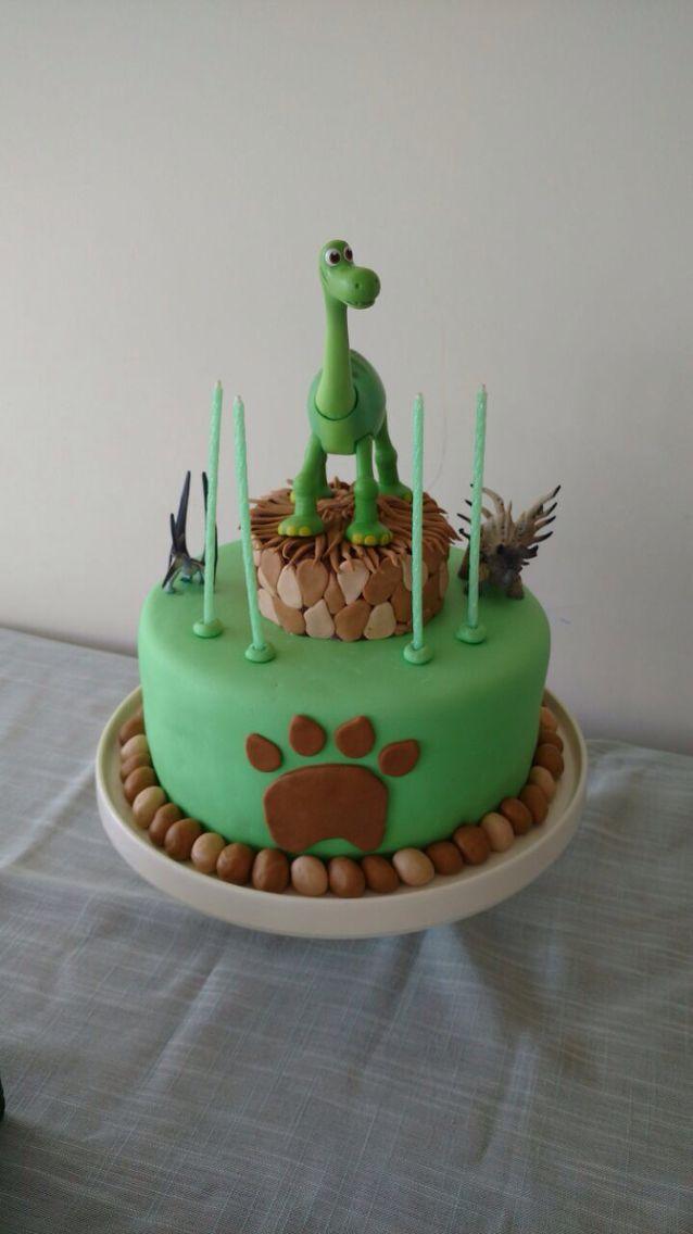 """Torta de cumpleaños """"El gran dinosaurio"""""""