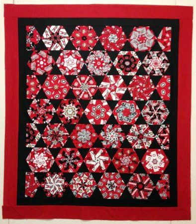 Red Rooster Quilts: Shop | Category: Kits | Product: Ohio State Stack-n-Whack Quilt Kit