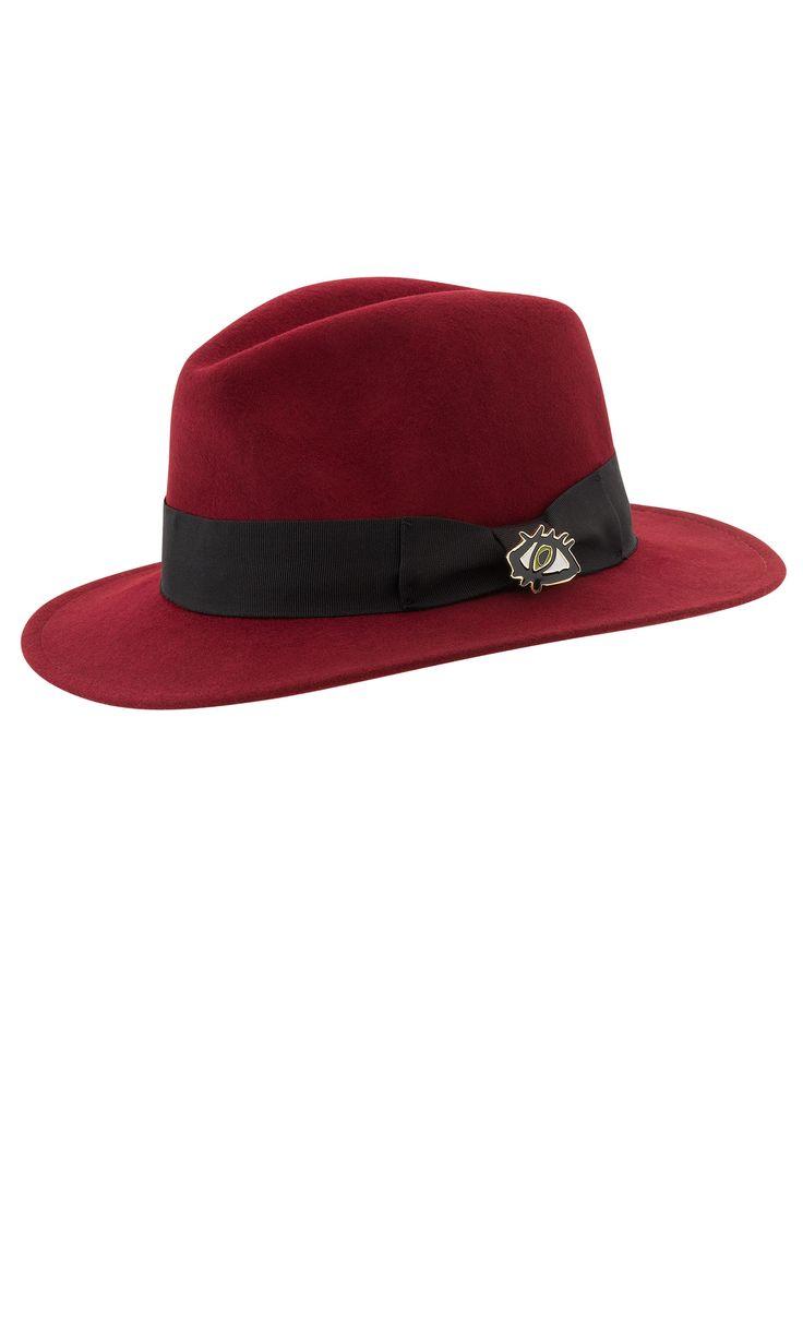 MERCI MERCI HAT - RUBY SS14 - SEPT : RUBY   RUBY
