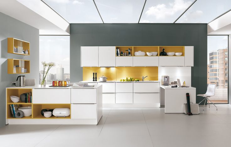 nobilia - Products - Kitchen Gallery - helle Farben