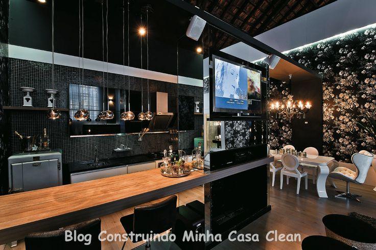 Veja no blog!! http://construindominhacasaclean.blogspot.com.br/2014/03/cozinhas-ousadas-e-super-modernas.html