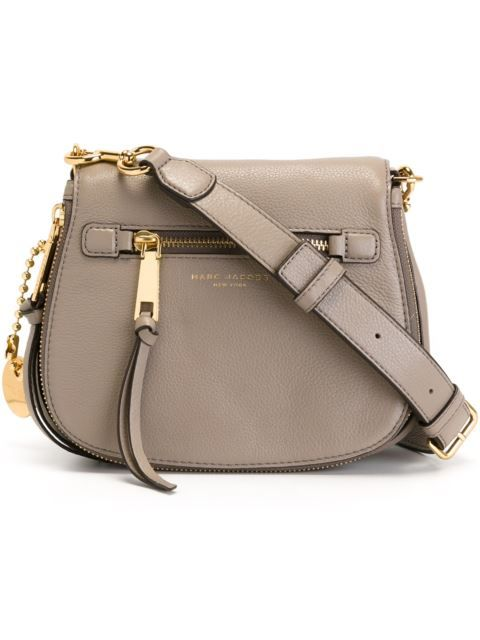 Shop Marc Jacobs small 'Recruit' saddle crossbody bag  in Di Pierro from the world's best independent boutiques at farfetch.com. Shop 400 boutiques at one address.