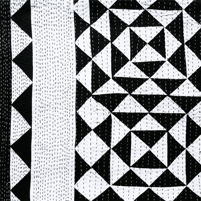 Black and white throw by Sally Campbell. Stunning!!!!!!