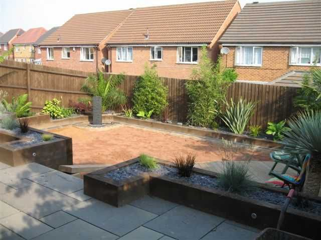 railway sleepers landscaping ideas - Google Search