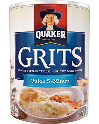 Product: Hot Cereals - Quaker Quick Grits | QuakerOats.com
