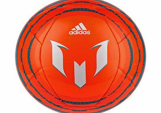 Adidas Messi Glider Size 5 Football You can play with Messis untouchable skill with this quality football from the Adidas range. Showing off Messi-inspired graphics. it features a machine-stitched body and offers excellent air retention http://www.comparestoreprices.co.uk/football-equipment/adidas-messi-glider-size-5-football.asp