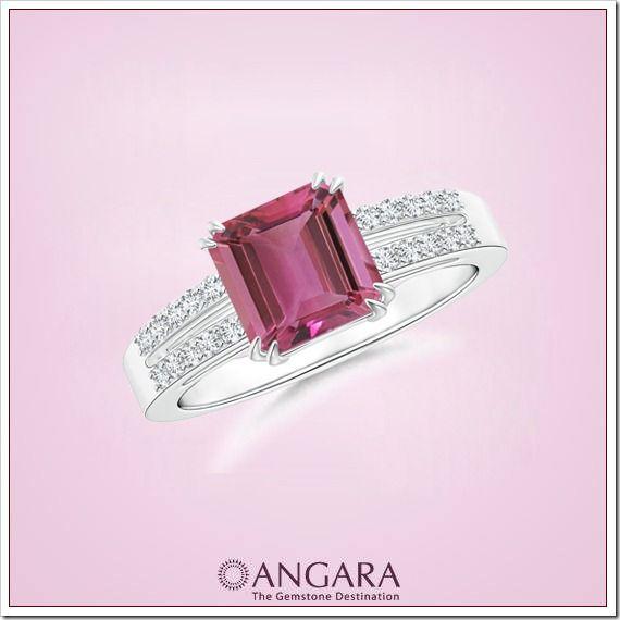 PINK TOURMALINE FASHION BLISS   Angara.com Jewelry Blog