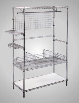 12 Best Organizing Accessories For Chrome Wire Shelving