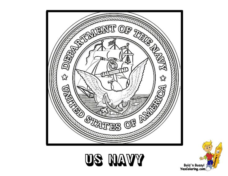 US Navy Flag Coloring Page You Have All The USA Armed Forces Flags