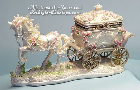 horse and carriage wedding cake topper and carriage cake topper wedding 15313