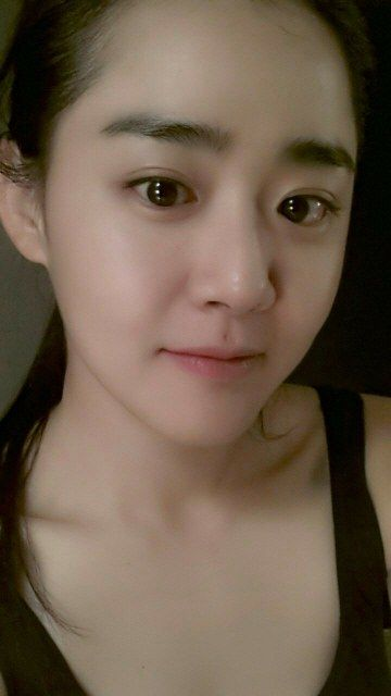 Moon Geun Young shares a doe-eyed selca