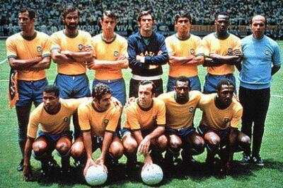 Seleção Brasileira - Copa do Mundo 1970 - México - Tricampeão