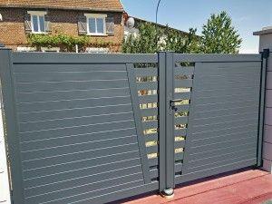 les 72 meilleures images du tableau portail aluminium sur pinterest garage oise et portail. Black Bedroom Furniture Sets. Home Design Ideas